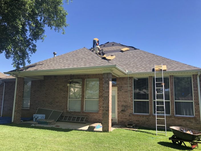 Roofing in DFW Texas